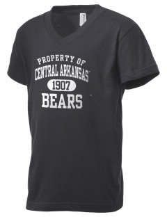 University of Central Arkansas Bears Kid's V-Neck Jersey T-Shirt