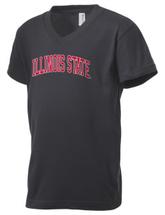 Illinois State University Redbirds Kid's V-Neck Jersey T-Shirt