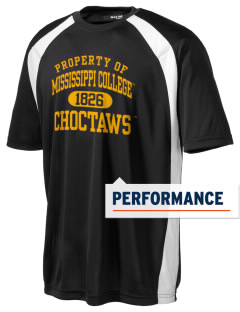 Mississippi College Choctaws Men's Dry Zone Colorblock T-Shirt