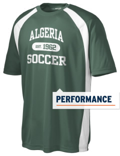 Algeria Soccer Men's Dry Zone Colorblock T-Shirt