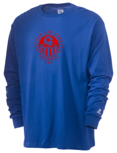 Antigua and Barbuda Soccer  Russell Men's Long Sleeve T-Shirt