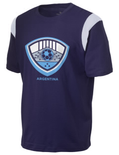 Argentina Soccer Holloway Men's Rush T-Shirt