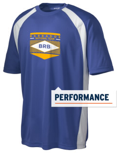 Barbados Soccer Men's Dry Zone Colorblock T-Shirt