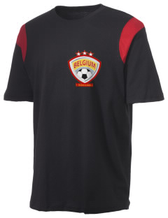 Belgium Soccer Holloway Men's Rush T-Shirt