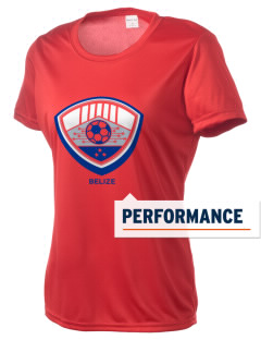 Belize Soccer Women's Competitor Performance T-Shirt