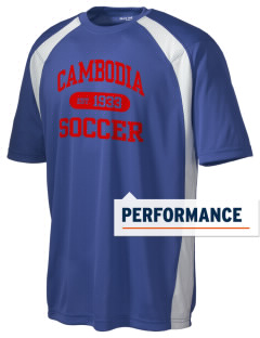 Cambodia Soccer Men's Dry Zone Colorblock T-Shirt