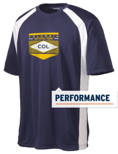 Colombia Soccer Men's Dry Zone Colorblock T-Shirt