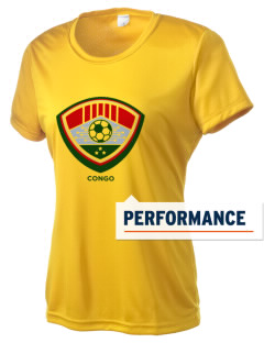 Congo Soccer Women's Competitor Performance T-Shirt