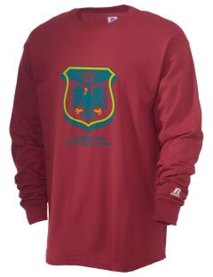 Congo DR Soccer  Russell Men's Long Sleeve T-Shirt
