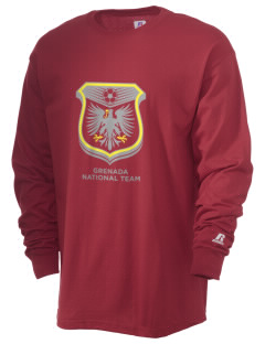 Grenada Soccer  Russell Men's Long Sleeve T-Shirt