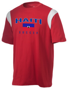 Haiti Soccer Holloway Men's Rush T-Shirt