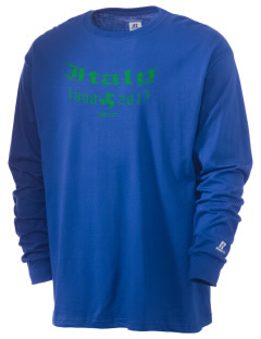 Italy Soccer  Russell Men's Long Sleeve T-Shirt