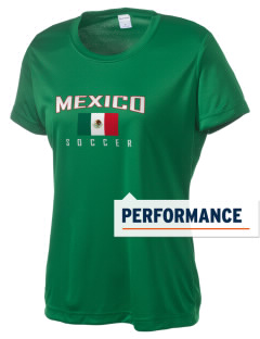 Mexico Soccer Women's Competitor Performance T-Shirt