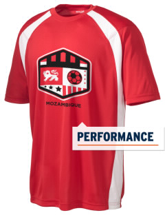 Mozambique Soccer Men's Dry Zone Colorblock T-Shirt