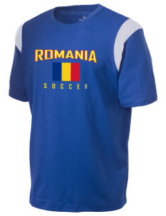 Romania Soccer Holloway Men's Rush T-Shirt
