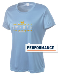 Sweden Soccer Women's Competitor Performance T-Shirt
