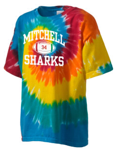 Mitchell Elementary School Sharks Kid's Tie-Dye T-Shirt
