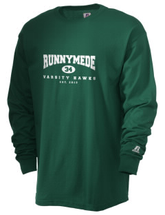 Runnymede Elementary School Hawks  Russell Men's Long Sleeve T-Shirt