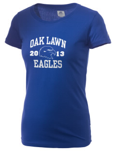 Oak Lawn Elementary School Eagles  Russell Women's Campus T-Shirt