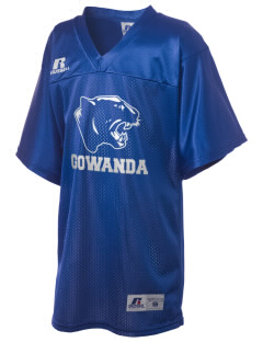 Gowanda School Panthers Russell Kid's Replica Football Jersey
