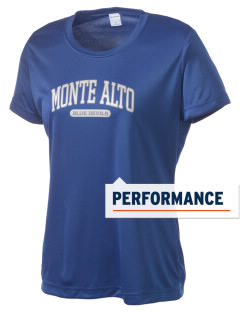 Monte Alto Junior High School Blue Devils Women's Competitor Performance T-Shirt