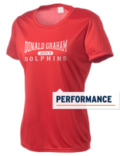 Graham Elementary School Dolphins Women's Competitor Performance T-Shirt