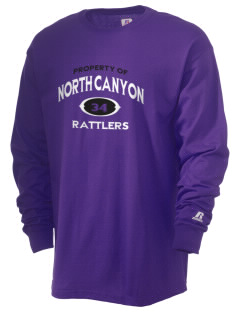 North Canyon High School Rattlers  Russell Men's Long Sleeve T-Shirt