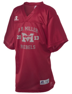A.B. Miller High School Rebels Russell Kid's Replica Football Jersey