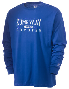 Kumeyaay Elementary School Coyotes  Russell Men's Long Sleeve T-Shirt