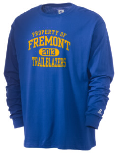 Fremont Middle School Trailblazers  Russell Men's Long Sleeve T-Shirt