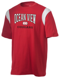Ocean View Elementary School Cougars Holloway Men's Rush T-Shirt