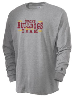 North Valley Continuation High School Bulldogs  Russell Men's Long Sleeve T-Shirt