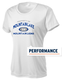 Mountain Lake High School Mountain Lions Women's Competitor Performance T-Shirt
