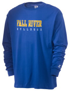 Fall River Senior High School Bulldogs  Russell Men's Long Sleeve T-Shirt