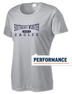 Southeast Webster Middle School Eagles Women's Competitor Performance T-Shirt