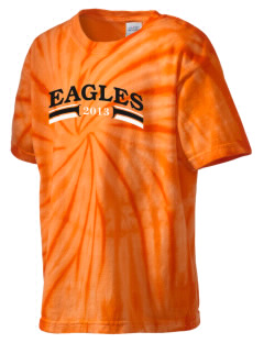 Dr Sally K Ride Elementary School Eagles Kid's Tie-Dye T-Shirt