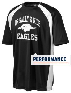 Dr Sally K Ride Elementary School Eagles Men's Dry Zone Colorblock T-Shirt