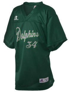 Greenspun Junior High School Dolphins Russell Kid's Replica Football Jersey