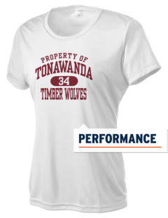 Tonawanda Junior High School Timber Wolves Women's Competitor Performance T-Shirt