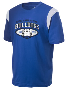 Central Haywood High School Bulldogs Holloway Men's Rush T-Shirt