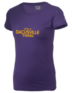 Dacusville Middle School Waves  Russell Women's Campus T-Shirt