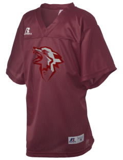Eastlake High School Wolves Russell Kid's Replica Football Jersey