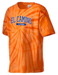 El Camino Junior High School Titans Kid's Tie-Dye T-Shirt