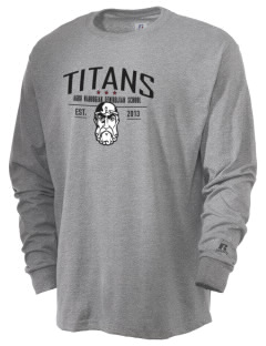Agbu Manoogian Demirdjian School Titans  Russell Men's Long Sleeve T-Shirt