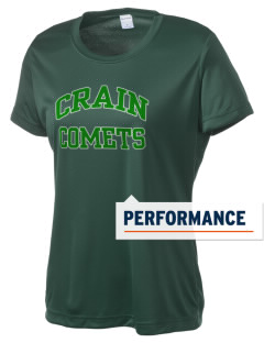 Crain Middle School Comets Women's Competitor Performance T-Shirt