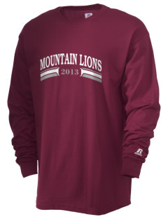 Mountain Ridge High School Mountain Lions  Russell Men's Long Sleeve T-Shirt
