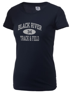 Black River High School Panthers  Russell Women's Campus T-Shirt