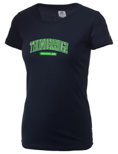 ThunderRidge High School Grizzlies  Russell Women's Campus T-Shirt