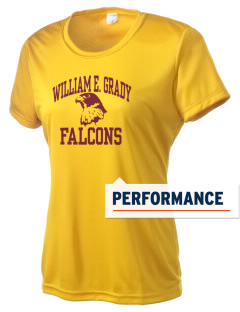 William Grady Vocational Technical High FALCONS Women's Competitor Performance T-Shirt