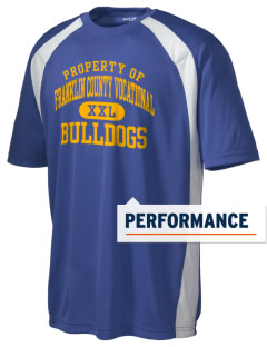 Franklin County Vocational Center Bulldogs Men's Dry Zone Colorblock T-Shirt